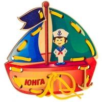 "ШНУРОВКА -КОРАБЛИК""ЮНГА"""