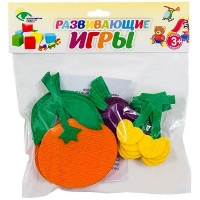 СЧЕТНЫЙ МАТЕРИАЛ НА КОВРОЛИНЕ №6 ( черешня, апельсин, слива)