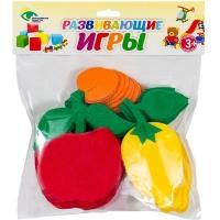 СЧЕТНЫЙ МАТЕРИАЛ НА КОВРОЛИНЕ №5 ( лимон, яблоко, абрикос)