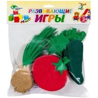 СЧЕТНЫЙ МАТЕРИАЛ НА КОВРОЛИНЕ №3 (помидор, огурец, лук)