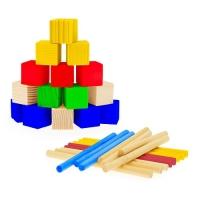 СЧЕТНЫЙ МАТЕРИАЛ (40палочек+60 кубиков)